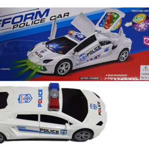 Transformer police car