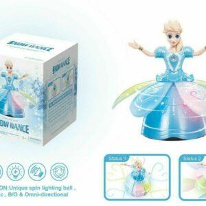 Snow dancing doll
