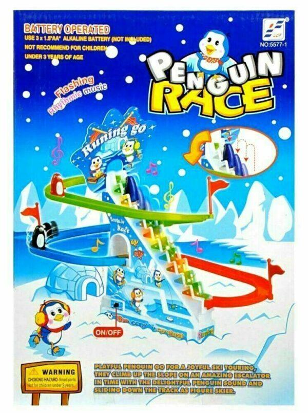 PENGUIN SLIDE RACE TOYS